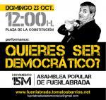 ¿Quieres ser democrático?